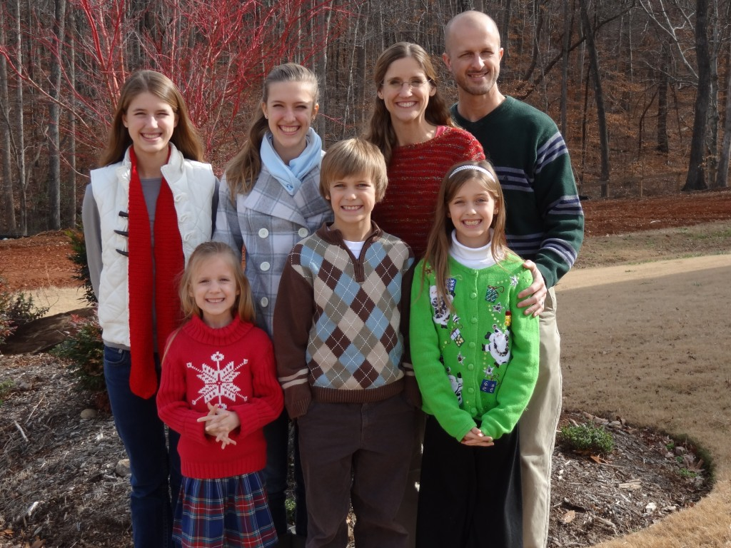 The Cannon Family (December 2012)