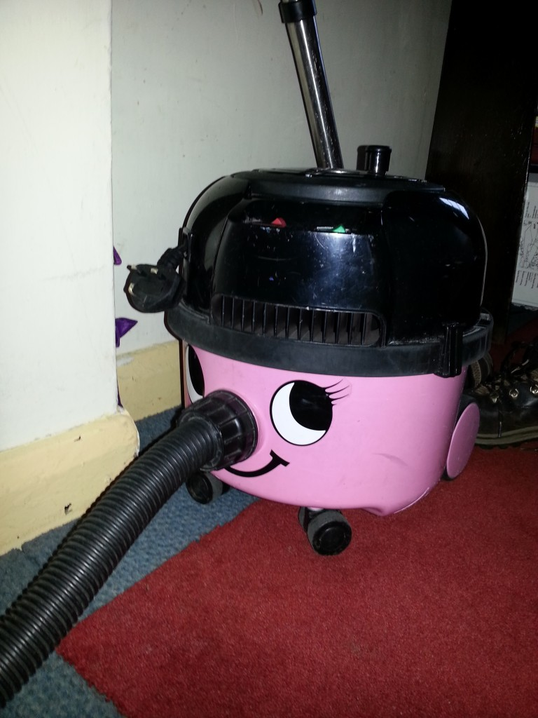 "The ""female"" vacuum cleaner"